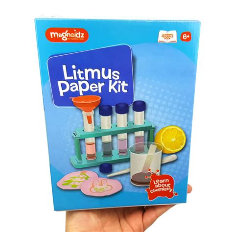 Make Litmus Paper - magnoidz litmus paper science kit for a scientist in the