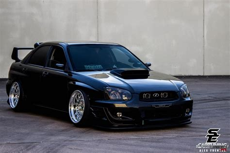 Lowered Subaru Impreza Wrx Sti Front