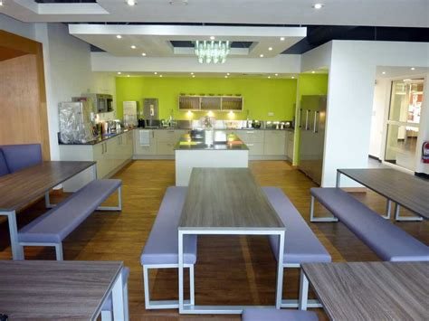 Uk Kitchen Designs clients howe projects lakeland staff canteen