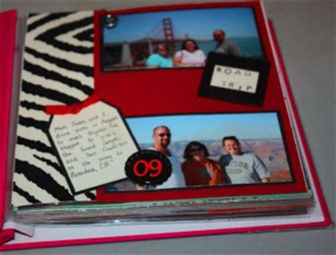 New Cherish Oki 1 san francisco road trip scrapbook