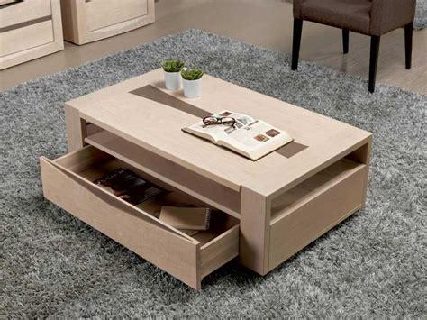 table de salon avec tiroir table basse rectangulaire en ch 234 ne avec tiroir meubles bois massif