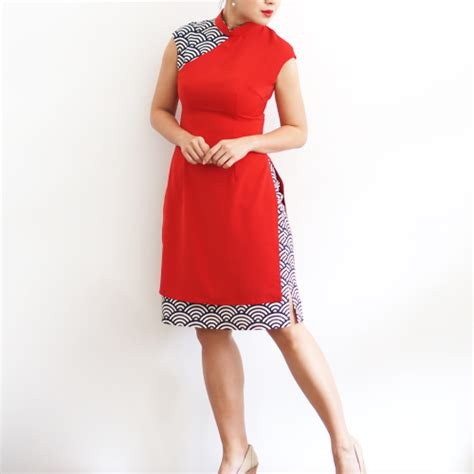 9006 Batik Elegance Limited 12 modern cheongsams for every budget that are for new year world