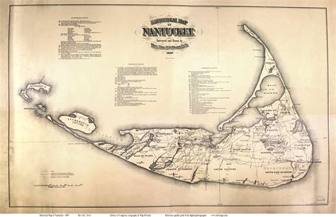 nantucket map nantucket and maps on