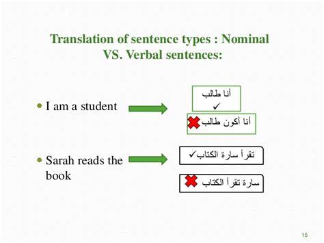 pattern verbal sentence basic sentence structure
