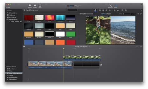 Imovie 10 Review A Lot To Like A Few Quibbles Macworld Imovie Templates For Mac