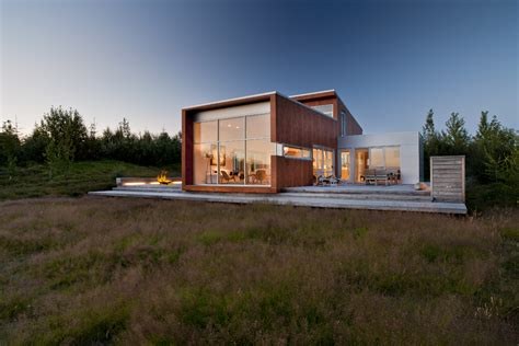 modurn pouses world of architecture modern home in the nature iceland