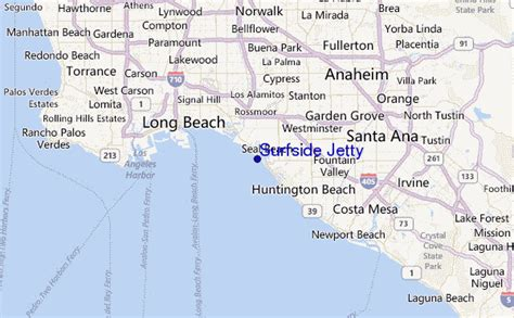 surfside map surfside jetty surf forecast and surf reports cal