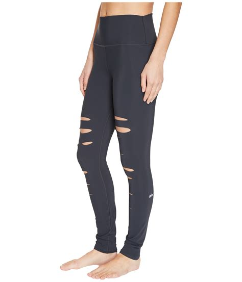 Ripped Legging Lg5367 alo ripped warrior at zappos