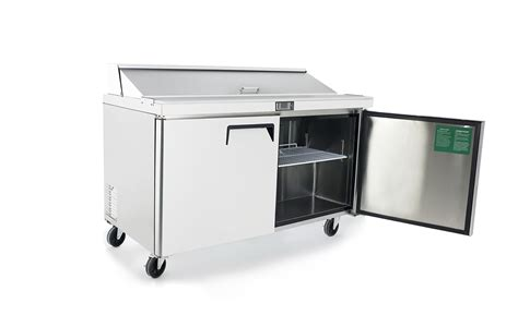 Used Sandwich Prep Table by Atosa Msf8303 60 Sandwich Prep Table