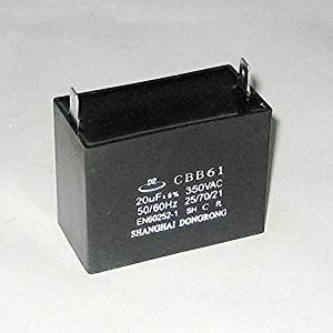 capacitor portable generator dongrong brand 20uf generator capacitor generator avr cbb61 20 uf 50 60hz 350v ac