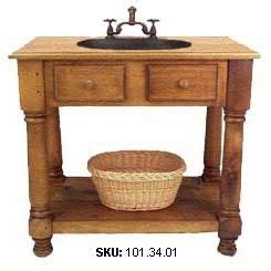 Farm Table Vanity by Pin By Angie Crabtree On Bathroom