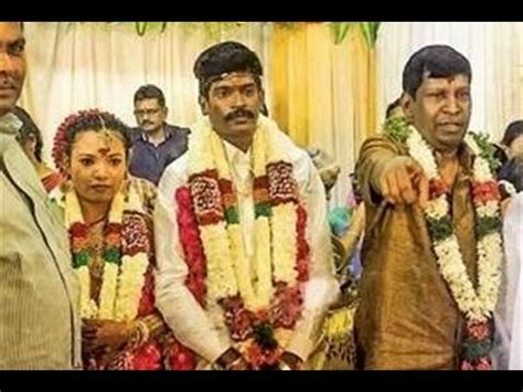 actor vimal son vadivelu says about his son s marriage youtube