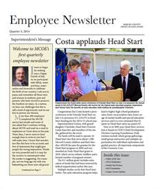 hr newsletter template sle employee newsletter template 9 free documents