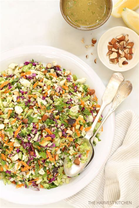 Simple Detox Salads by Crunchy Detox Salad The Harvest Kitchen