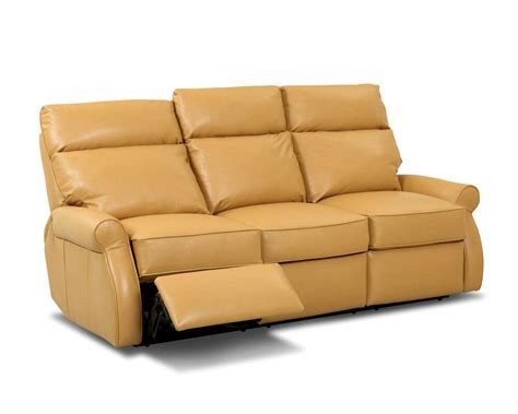 learher couch comfort design leslie reclining leather couch clp727rs