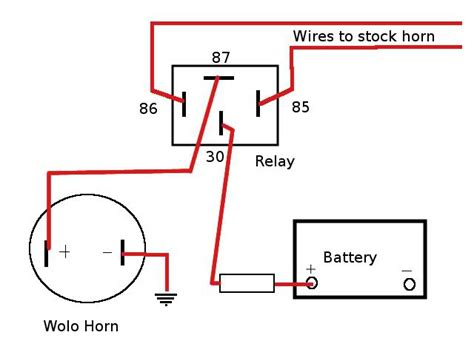 wolo horn wiring wiring diagram with description