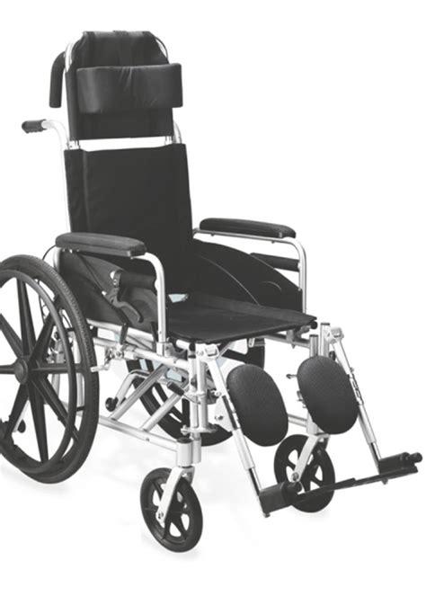 high back reclining wheelchair reclining wheel chair rs 15500 tilt back wheelchair