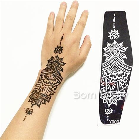 3 24 tattoo stencil templates mehndi henna body art
