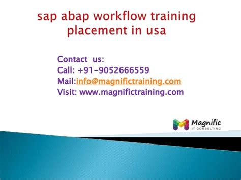 sap abap tutorial videos sap abap workflow training placement in usa