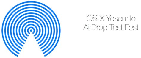 apple launches yosemite airdrop test fest  appleseed