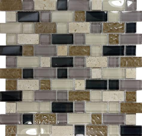 tile kitchen backsplash natural stone 10sf brown glass natural stone mosaic tile kitchen wall