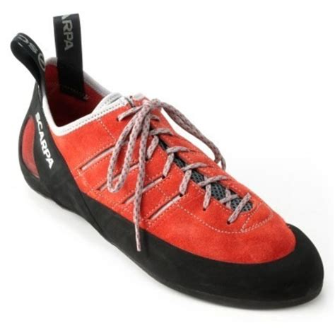 scarpa thunder climbing shoes scarpa thunder mens leather rock climbing shoes 46 ebay