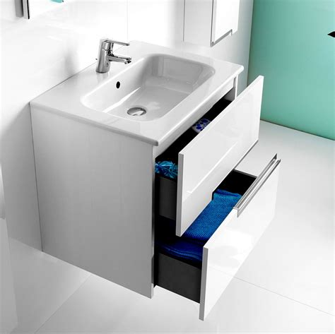 Bathroom Basin Furniture Roca N 2 Drawer Vanity Unit With Basin Uk Bathrooms