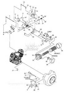 generac 005058 1 gtv760 parts diagram for carburetor air intake