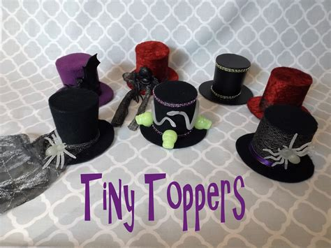 How To Make A Small Hat Out Of Paper - quot tiny toppers quot mini top hats 183 how to make a hair