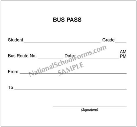 demerit card template pass slip nationalschoolforms