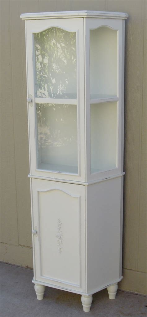 shabby chic curio cabinet the backyard boutique by five to nine furnishings shabby