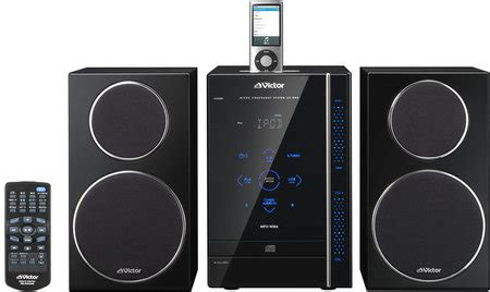 Jvc 2007 Ux Dm9db Micro System With Ipod Playback And 1gb Flash Memory by Jvc Ux Gn6 A Stylish Audio System