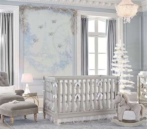 spindle baby cribs blythe spindle crib pottery barn