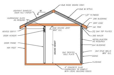 hip roof barn plans storage shed plans 12 215 16 redwood woodworking projects