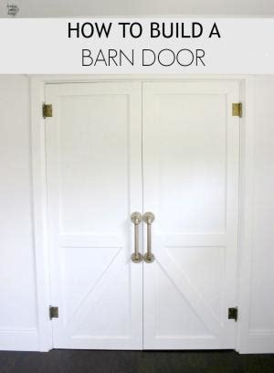 How To Build And Hang A Barn Door Cheaply How To Hang Barn Door