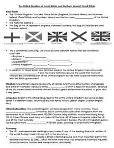 culture of english speaking countries fact sheet united