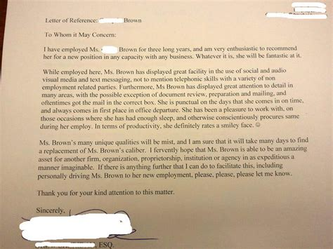 Recommendation Letter Reddit My Wrote Me A Letter Of Recommendation