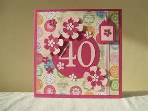 friend 40th birthday card stuff 40th birthday cards a sign that your