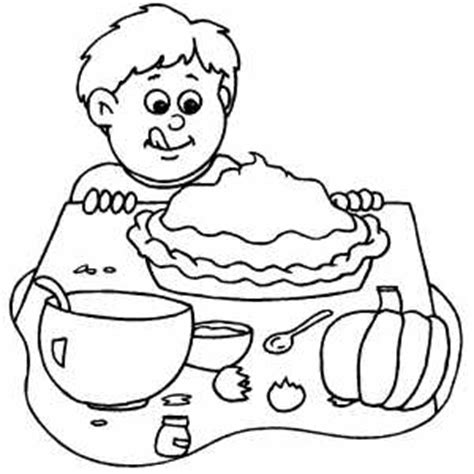 coloring pages of pumpkin pie boy and pumpkin pie coloring page