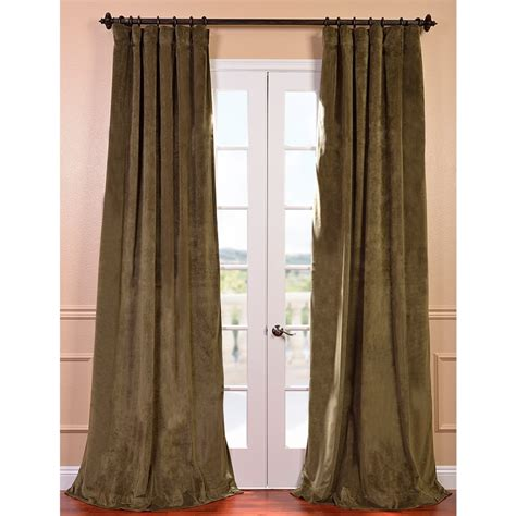 Green Velvet Curtains Green Shower Curtain From Sears