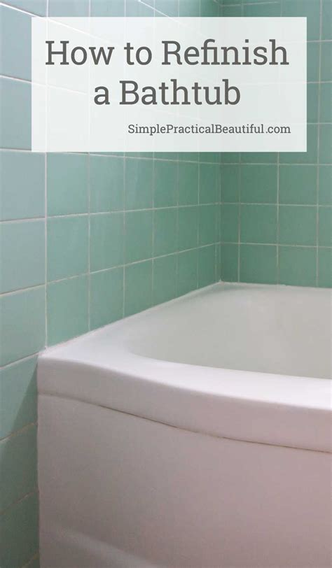 experience refinishing  bathtub  rust oleum tub  tile simple practical beautiful