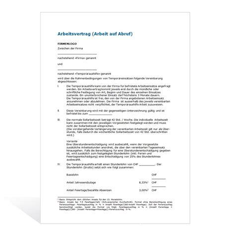 Brief Schweiz Dauer Arbeitsvertrag K 252 Ndigung Vorlage K 252 Ndigung Vorlage Fwptc