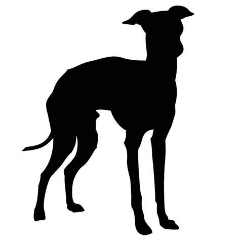 italian greyhound silhouette www pixshark com images