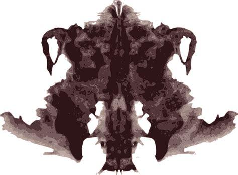 tavole rorschach image vectorielle gratuite tache d encre test de