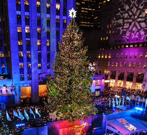 when is the new york tree lighting 80th annual rockefeller center tree lighting