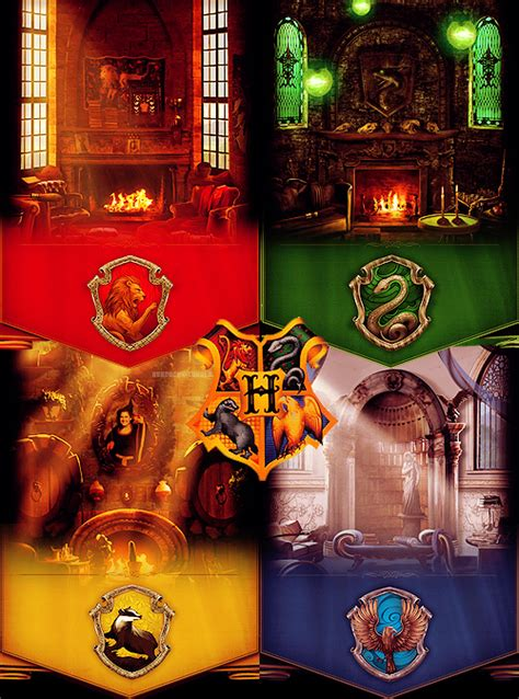 harry potter house hogwarts houses pottermore fan art 27819650 fanpop