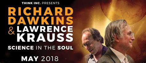 science in the soul richard dawkins lawrence krauss science in the soul sydney eventfinda