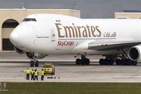 emirates cargo emirates skycargo to shrink freighter fleet returning its
