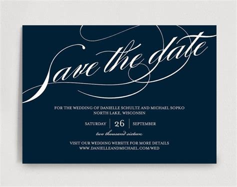 best 25 save the date templates ideas on pinterest save