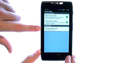 resetting gmail password on droid how do i perform a factory reset on my motorola droid razr